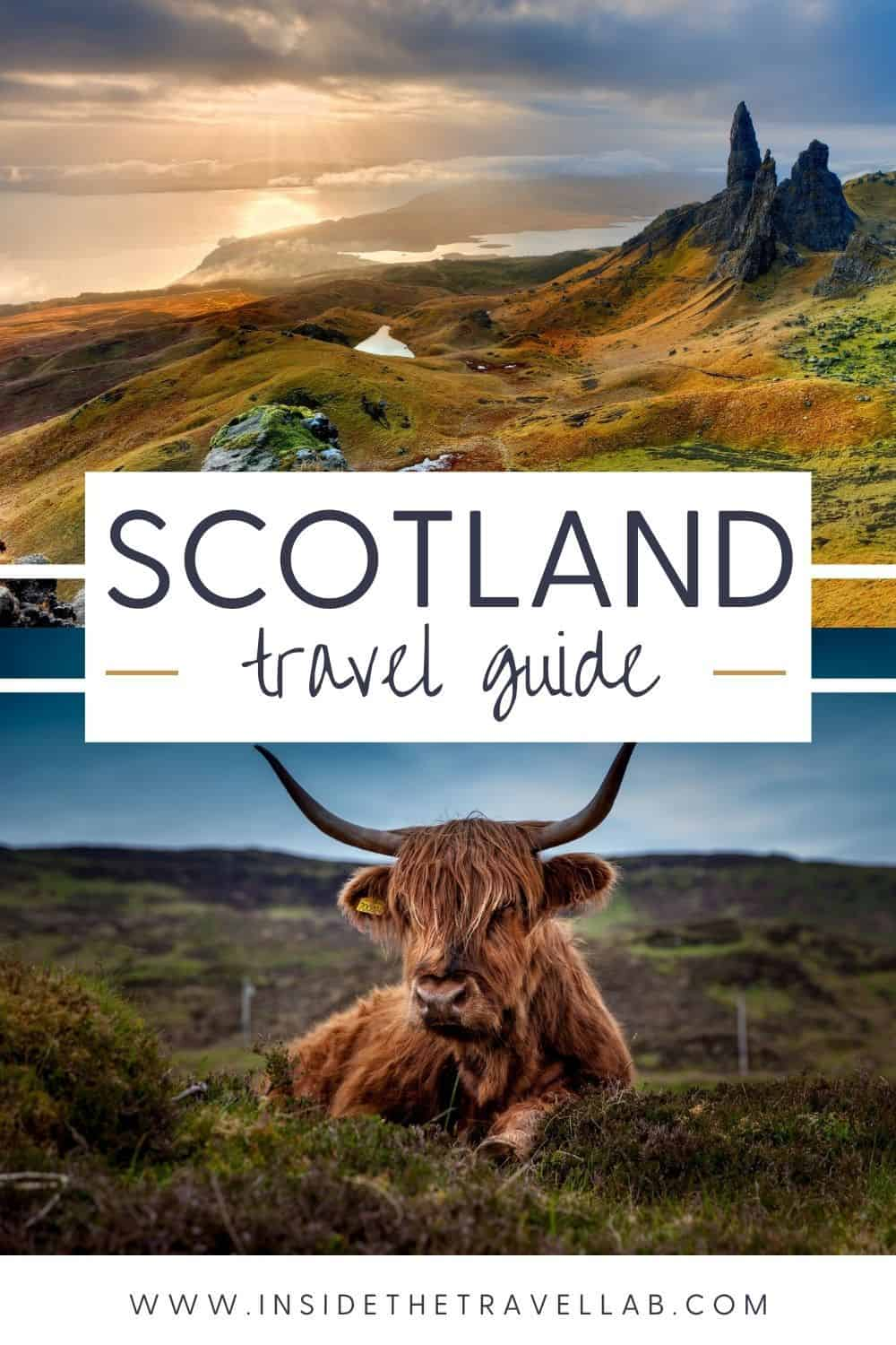 Scotland Travel Guide - Scotland road trip itineraries cover