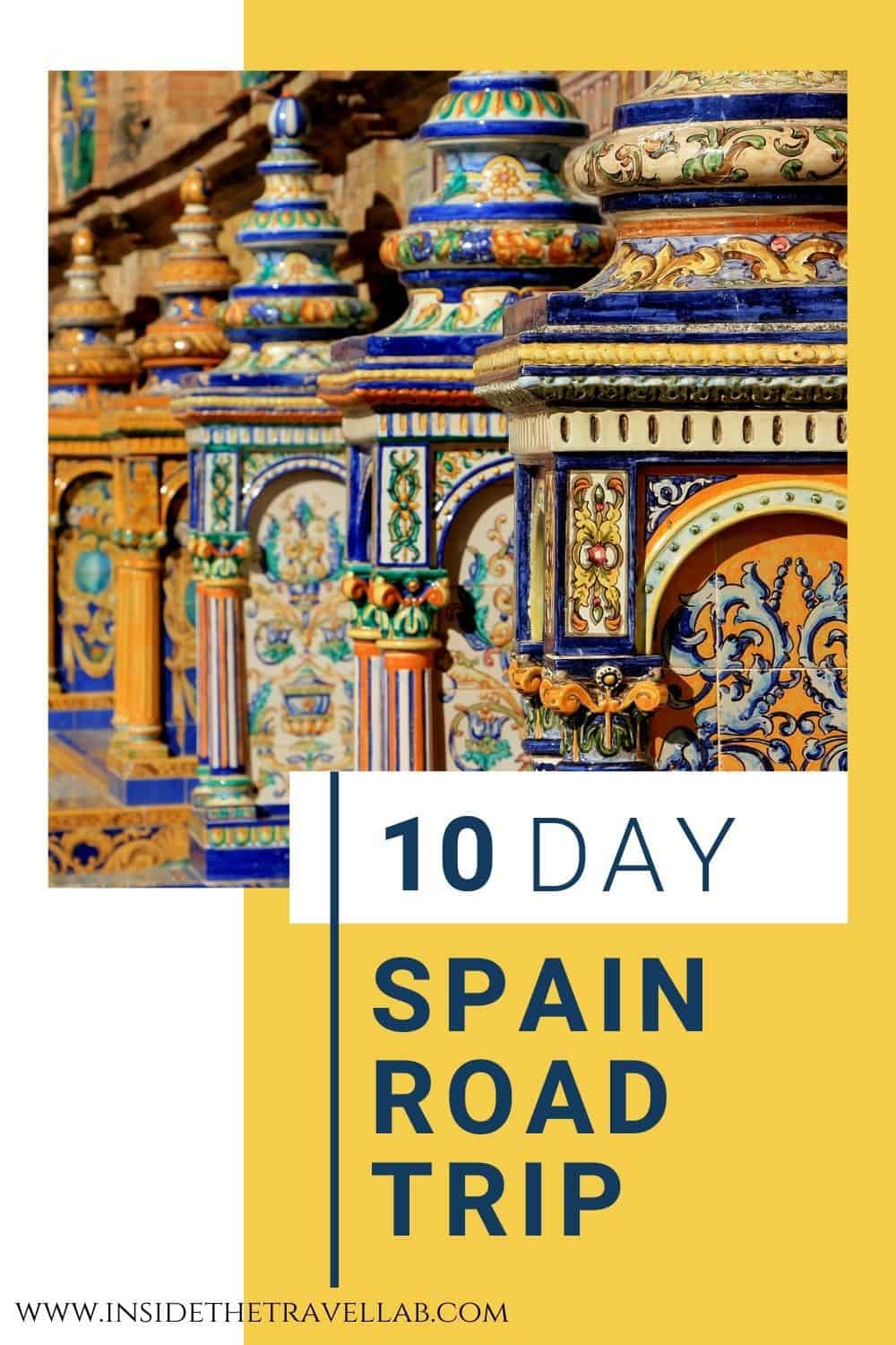 Southern Spain Travel Guide and Southern Spain Road Trip Itinerary - Plaza Espana Ceramics