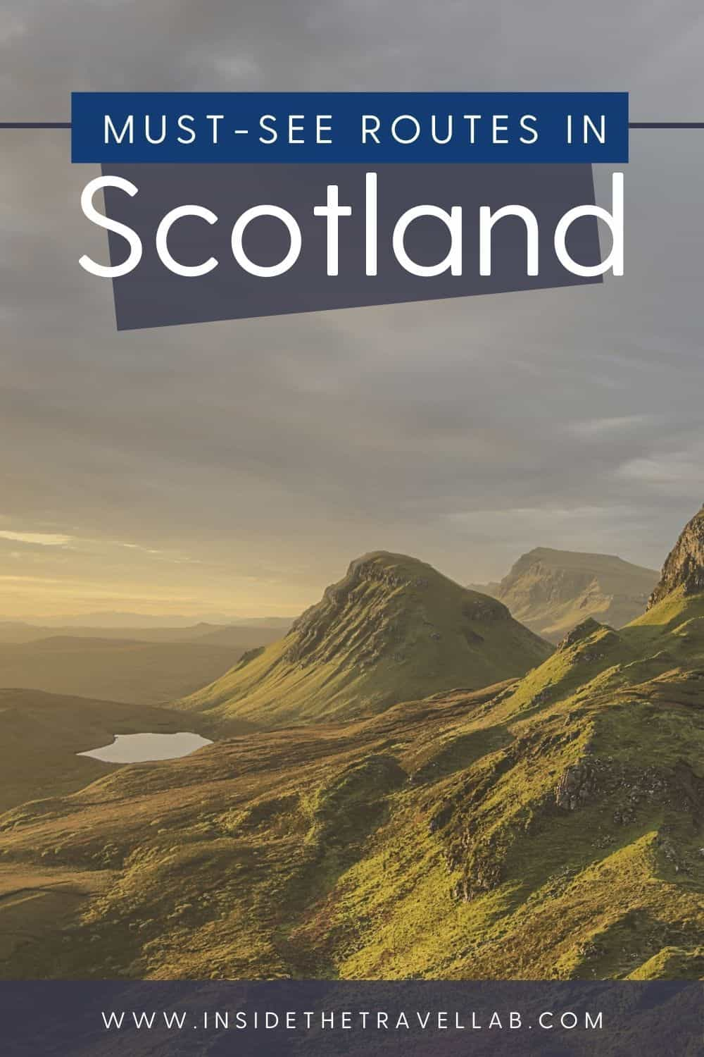 Scotland wild landscapes and Scotland travel guide cover