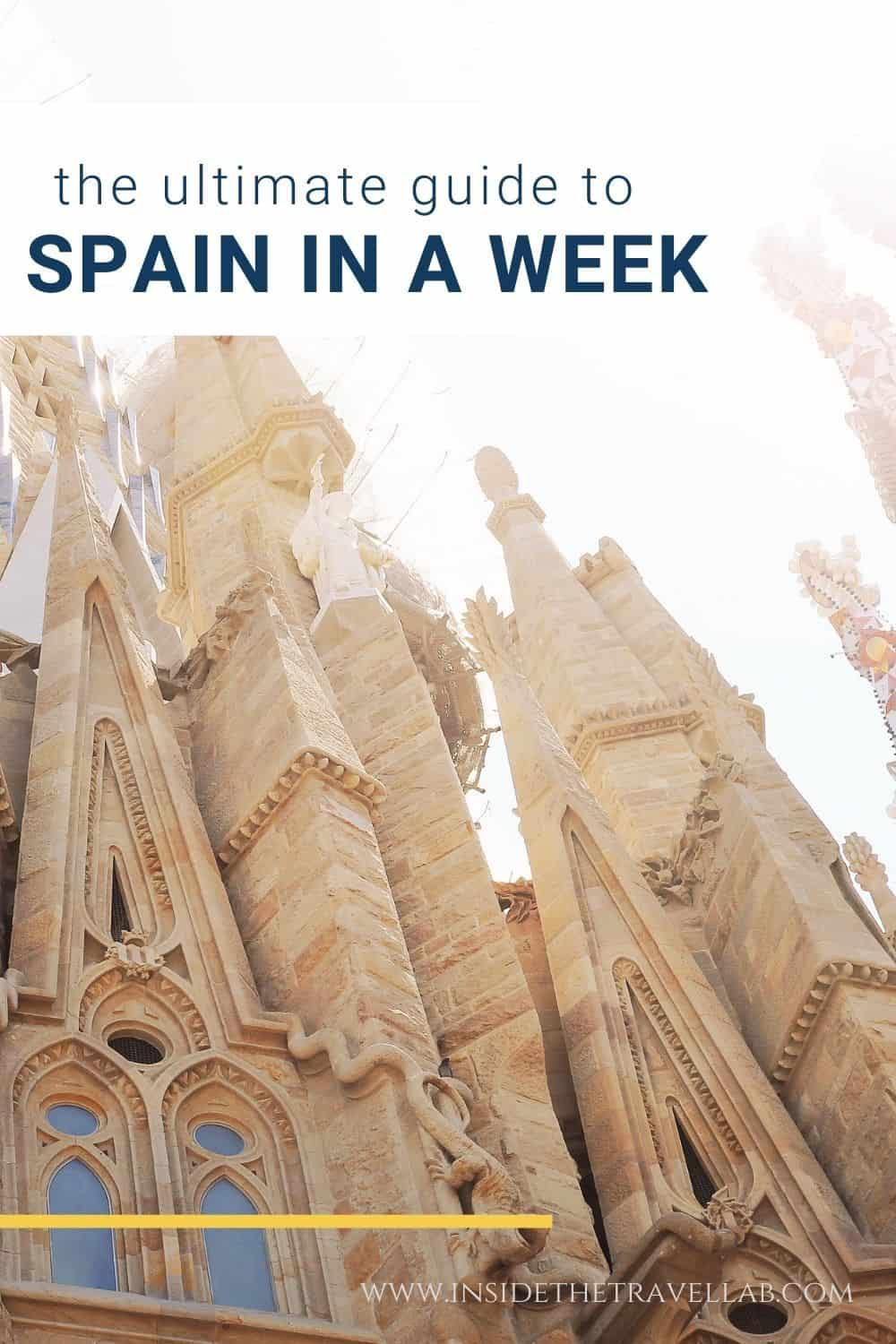 How to see Spain in a week cover image