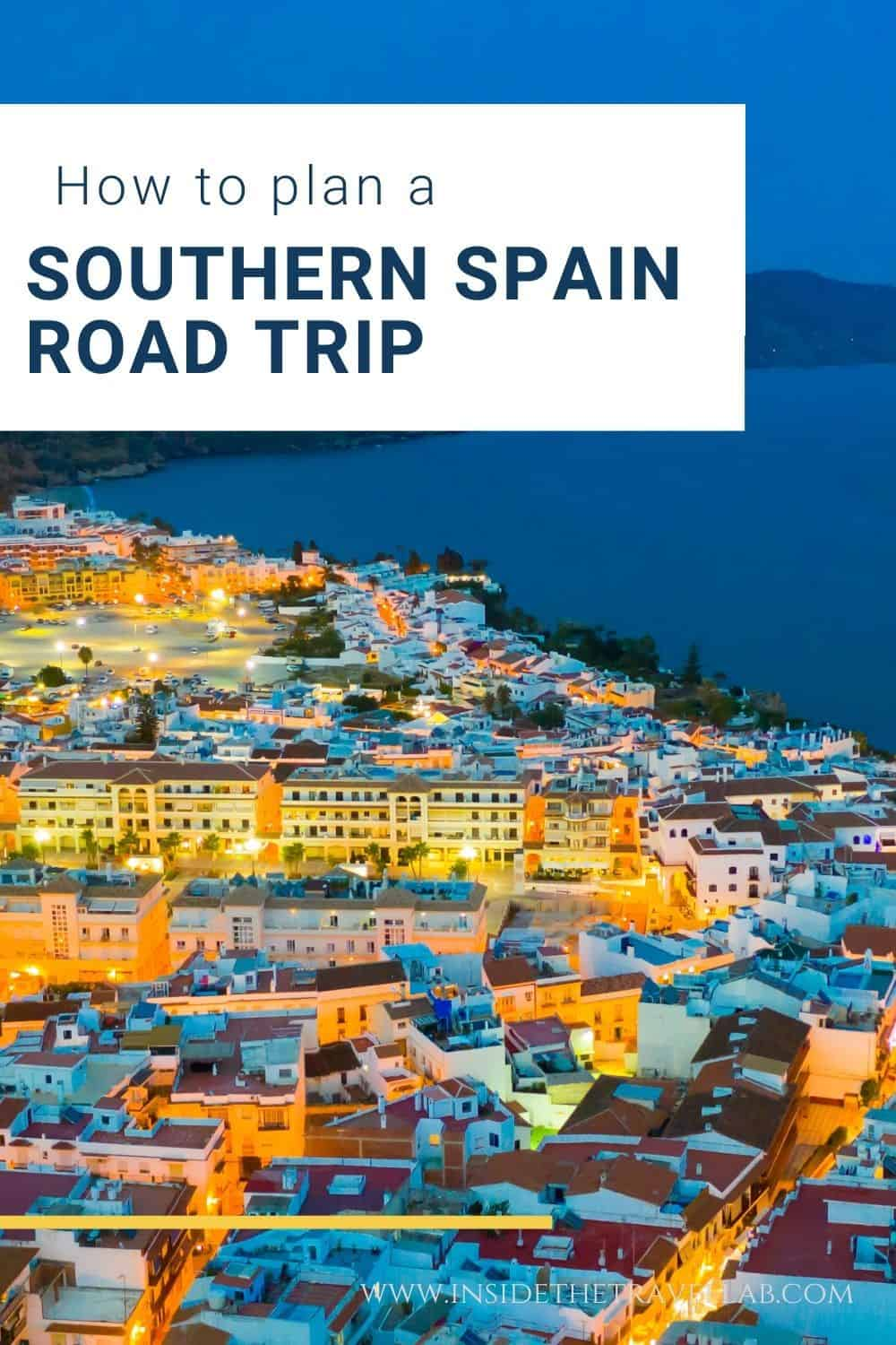 Southern Spain Travel Guide and Southern Spain Road Trip Itinerary cover image