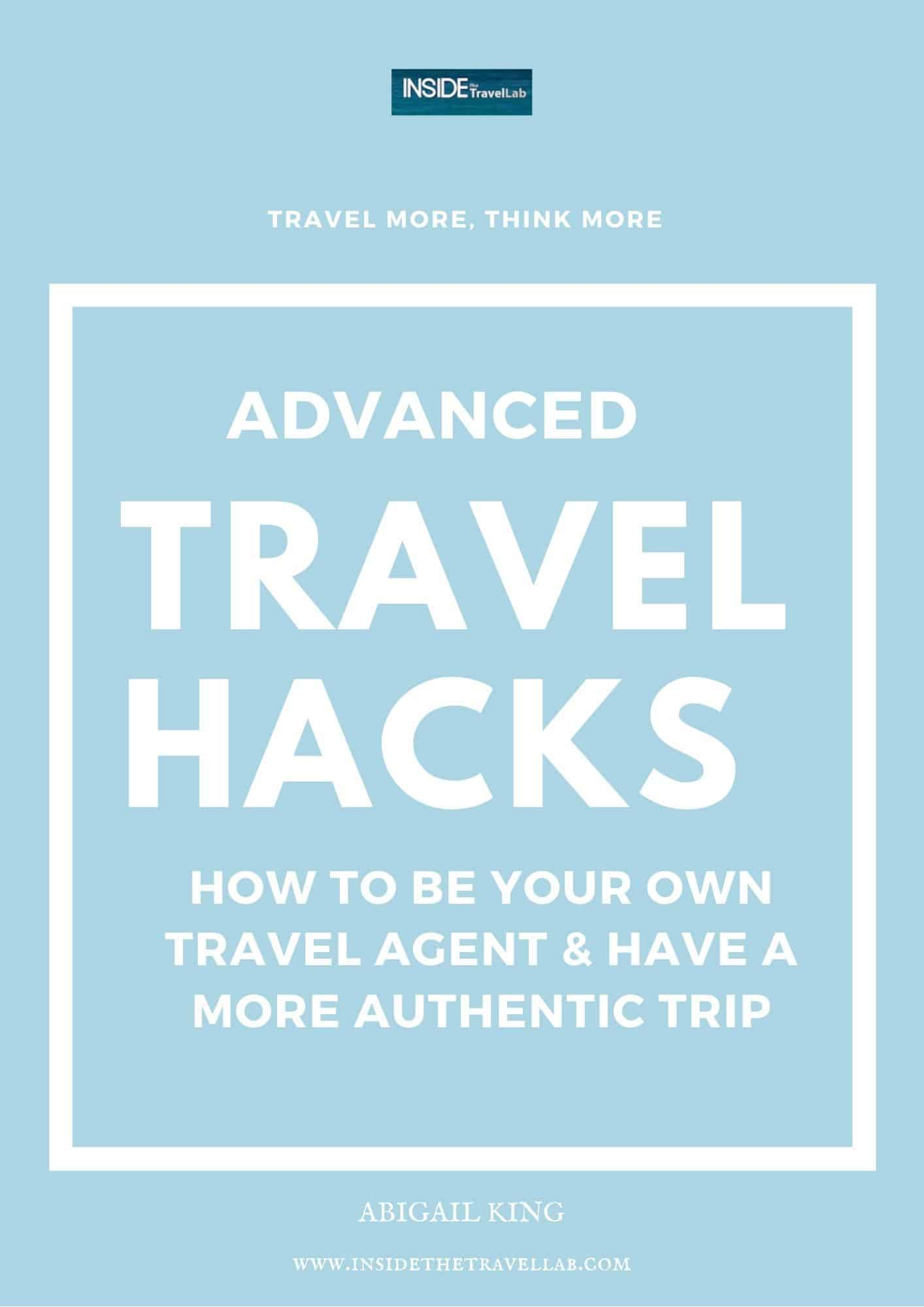 Advanced Travel Hacks Cover