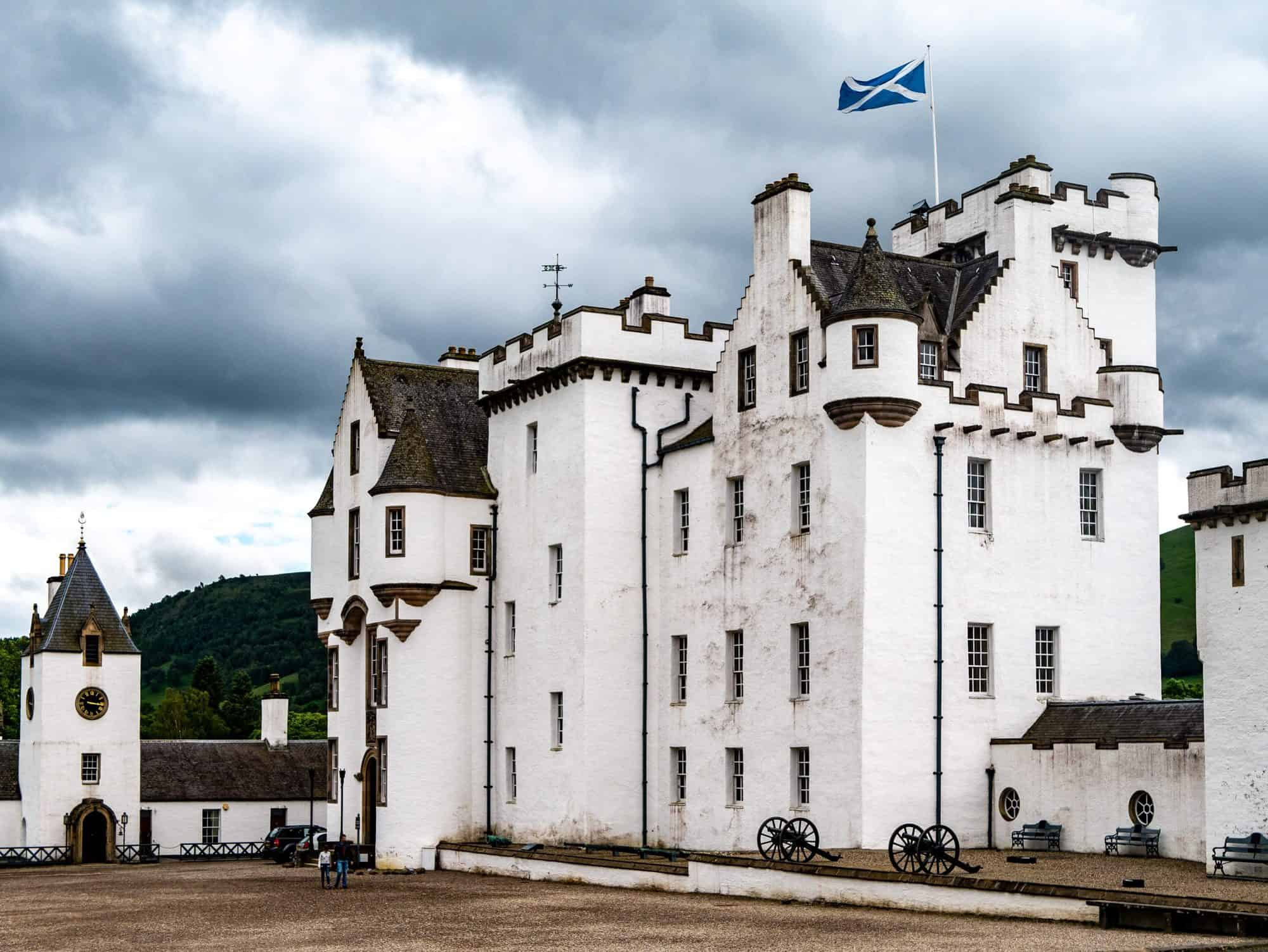 Scotland - Pitlocry - Blair Castle house
