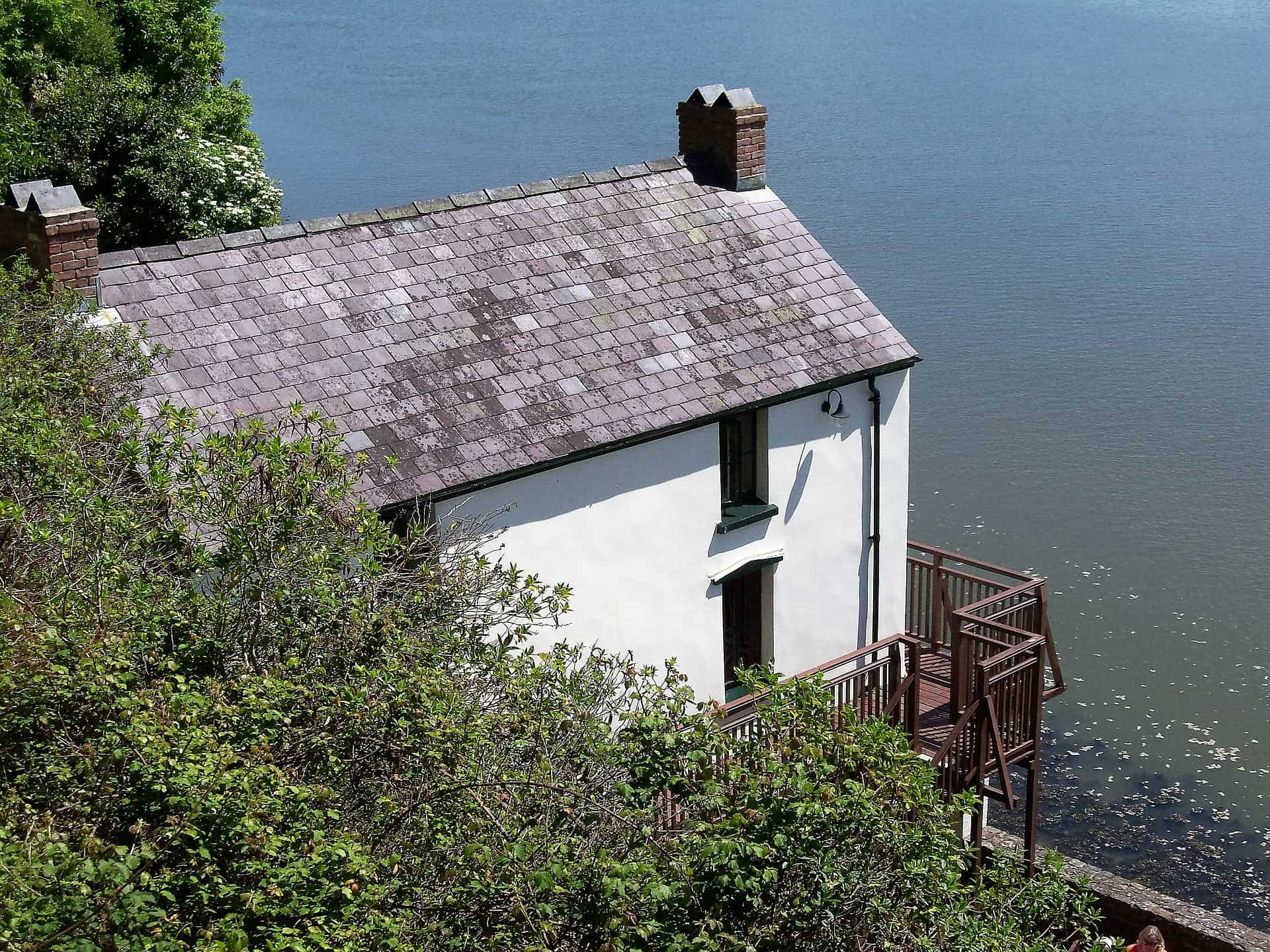 Wales - Carmarthenshire - Laugharne - Dylan Thomas House