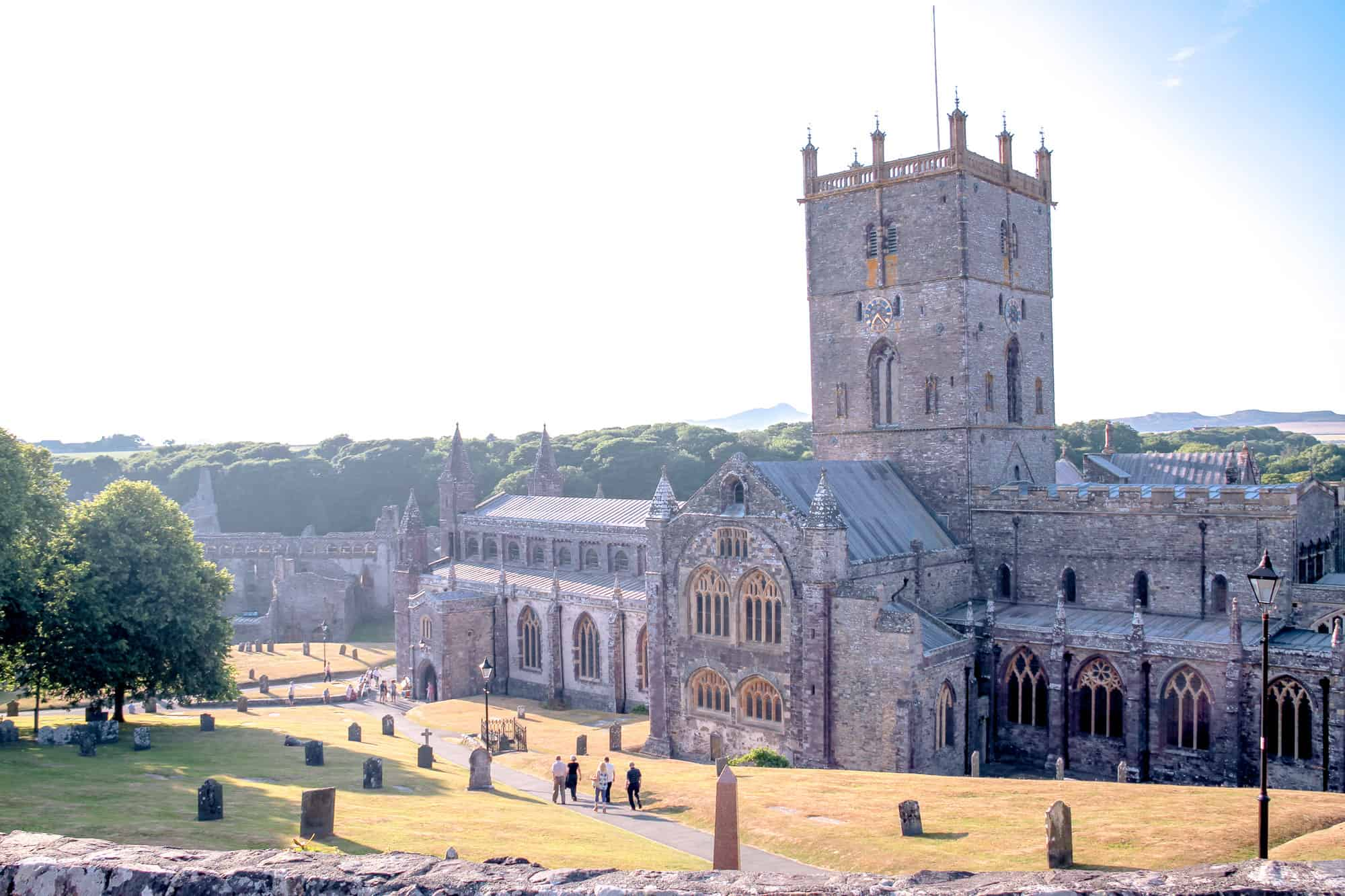 Wales - Pembrokeshire - St Davids Cathedral