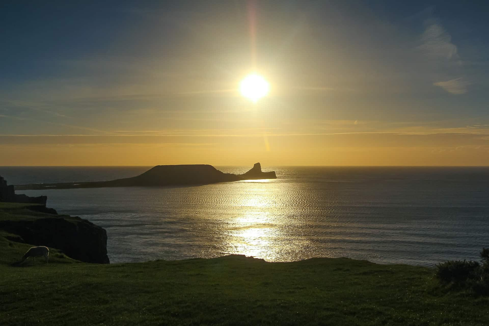 Wales - The Gower - Worm's Head