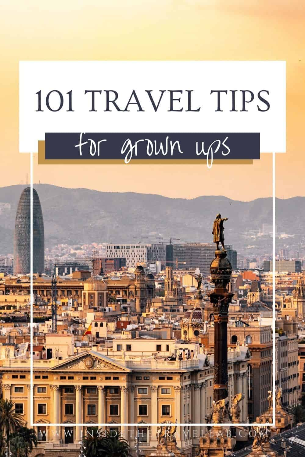 101 Travel Tips Cover