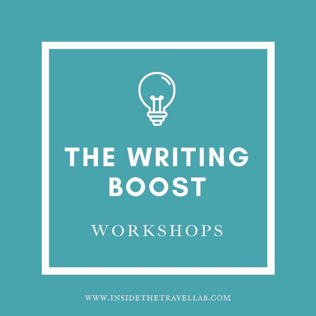 The Writing Boost Workshops Cover Image