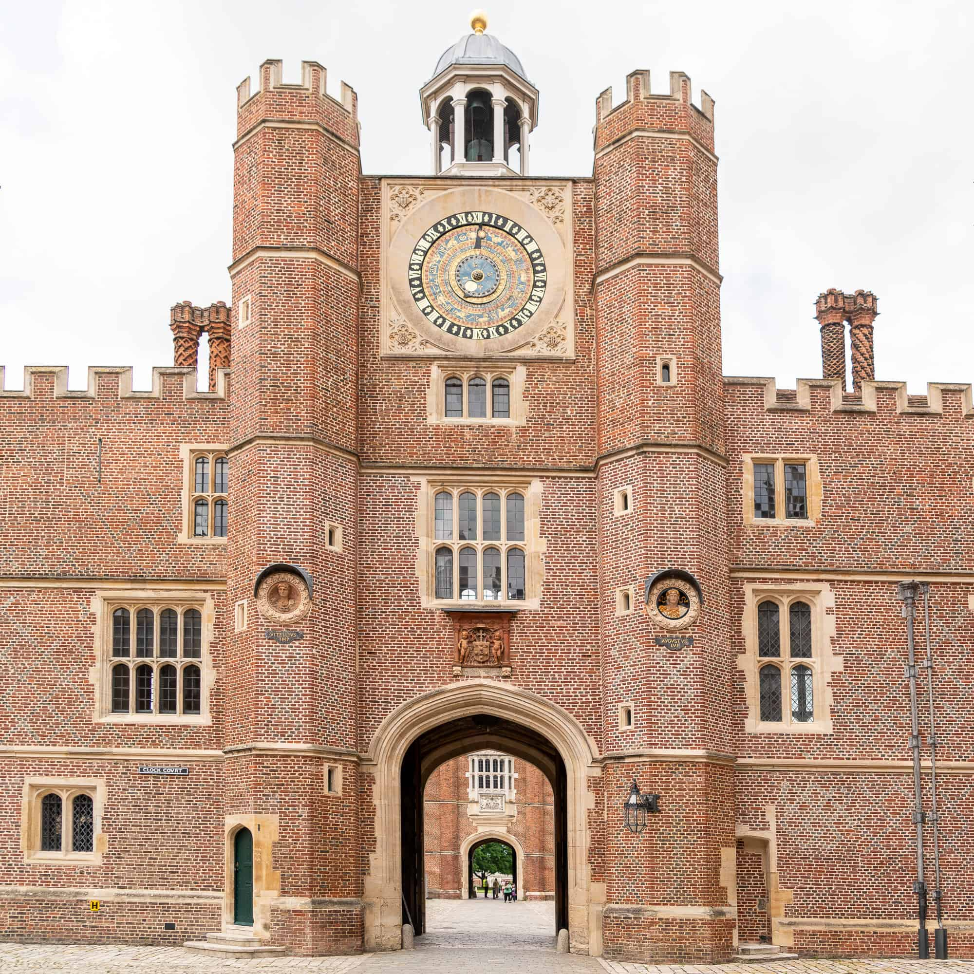 England - Kingston upon Thames - Hampton Court Palace Facade