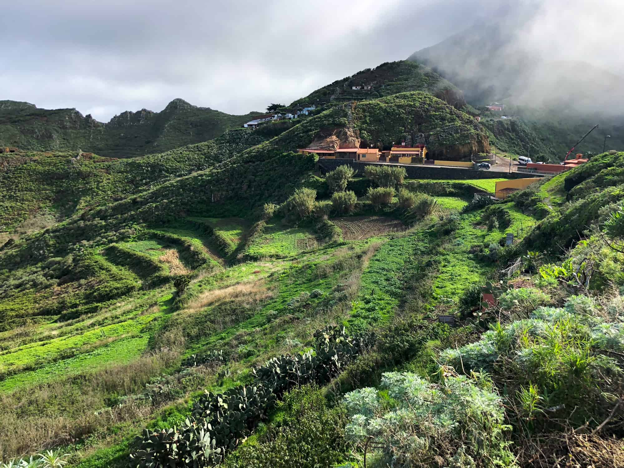Questions about Spain - stunning hillsides in Tenerife in the Canary Islands