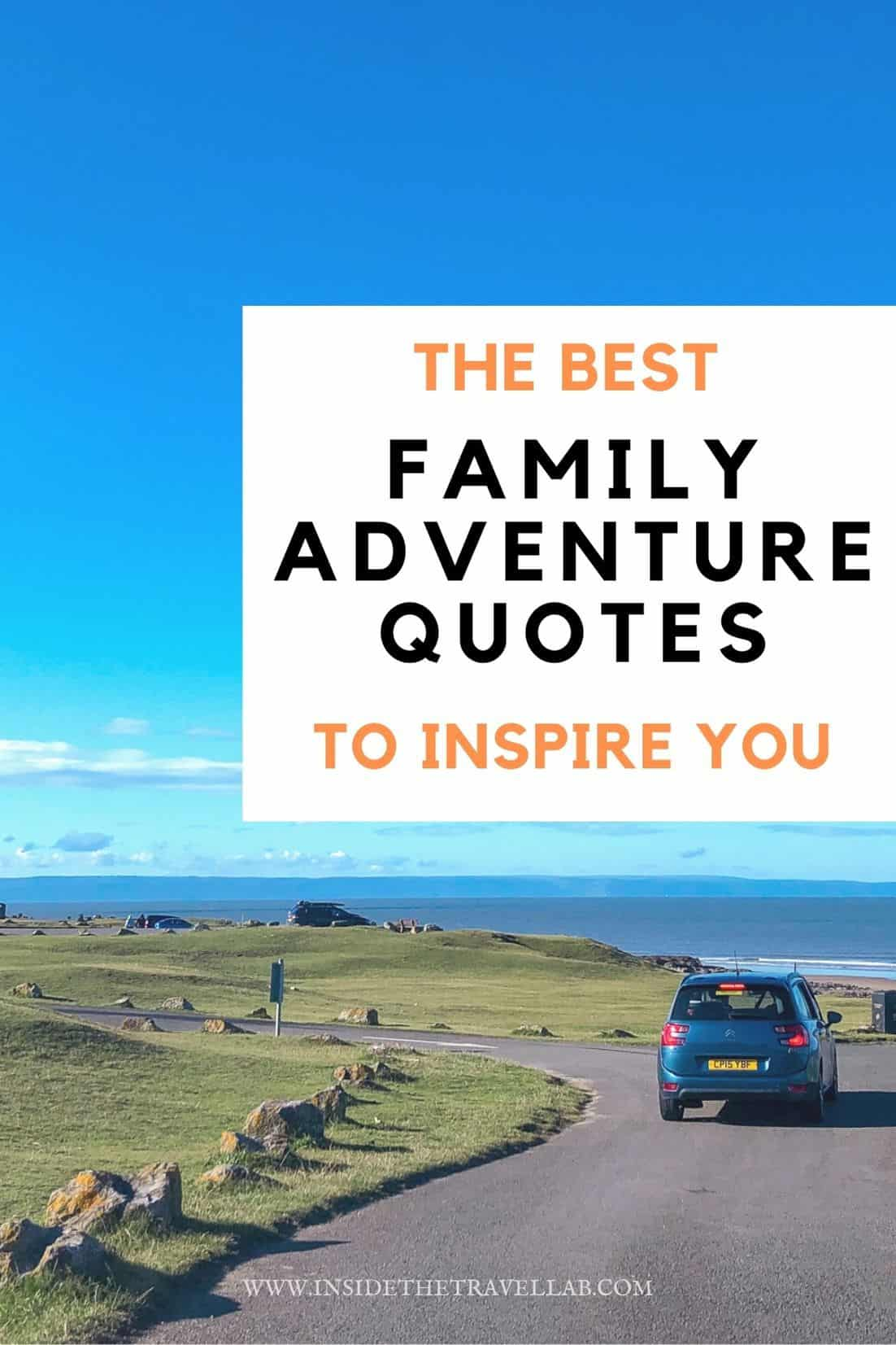 Family travel quotes cover image