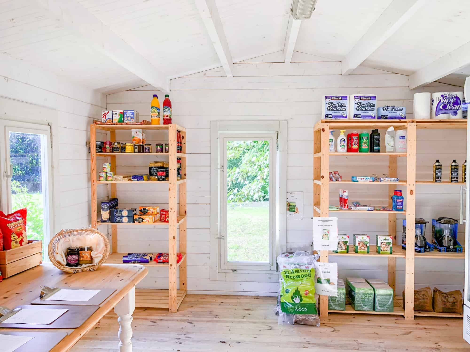 Glamping checklist - food and other essentials