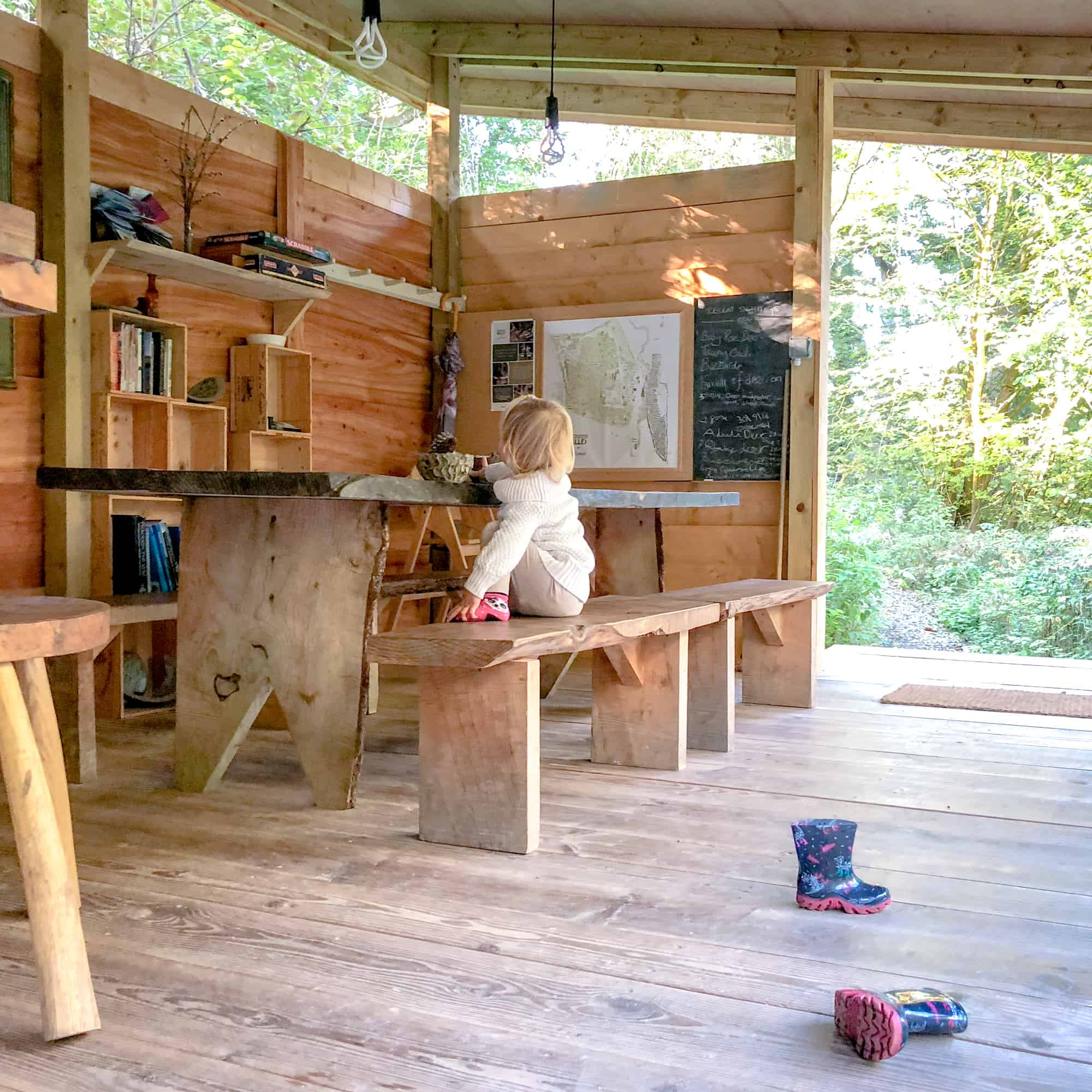Glamping games room - for glamping packing list
