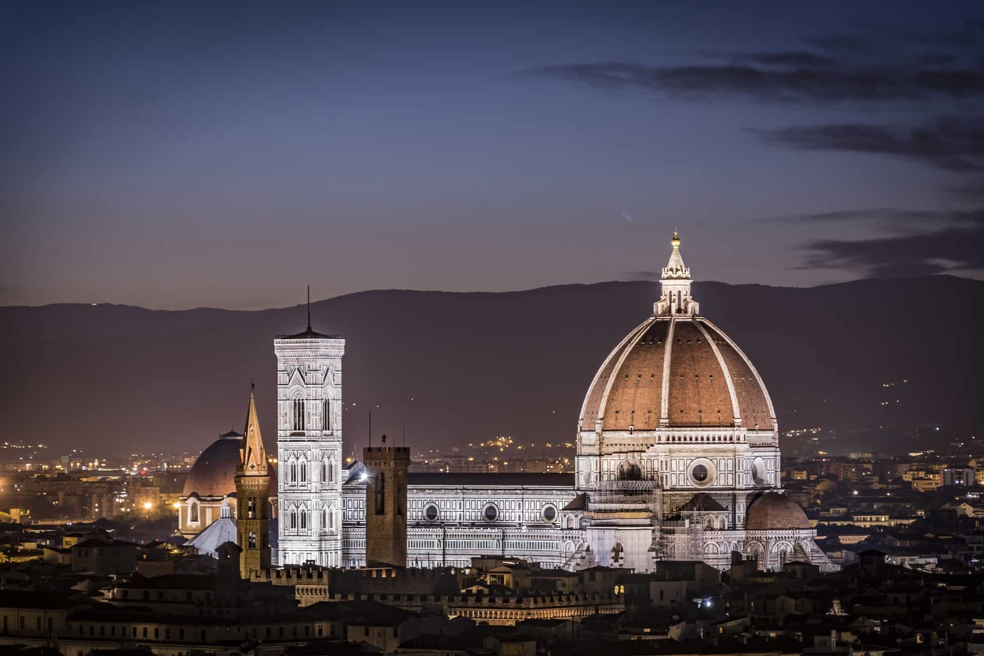 Italy - Florence - Skyline Cathedral View