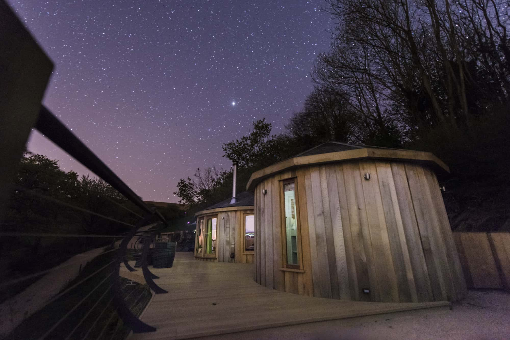 Wood pecker from Unique Hideaways beneath the stars